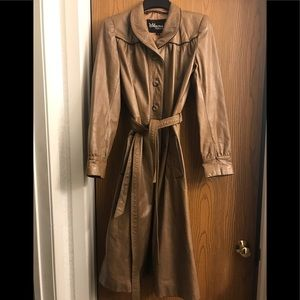 🔥🔥🔥FABULOUS GENUINE LEATHER COAT ‼️